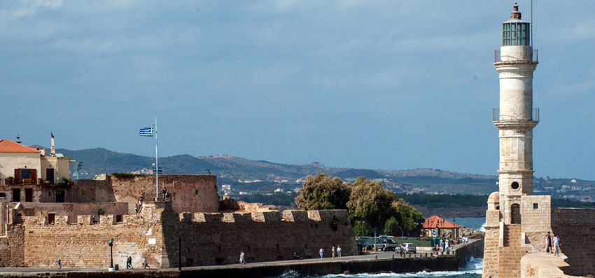 Chania managed to preserve its original colors and historical character